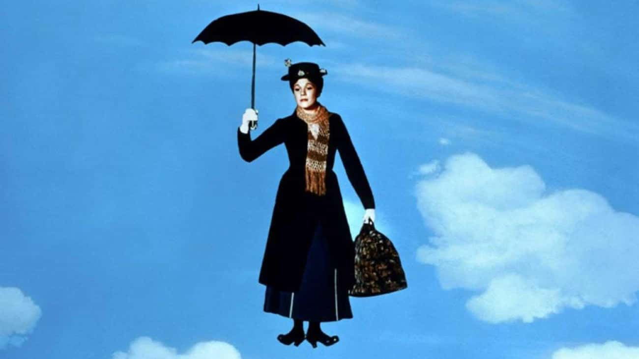 Julie Andrews Fell While Filming A Mid-Air Special Effect