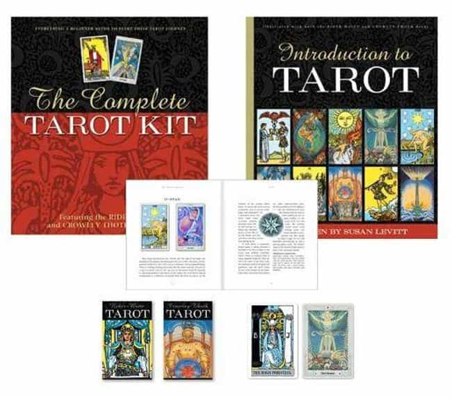 The Complete Tarot Kit by Susa... is listed (or ranked) 2 on the list Tarot Cards For Beginners