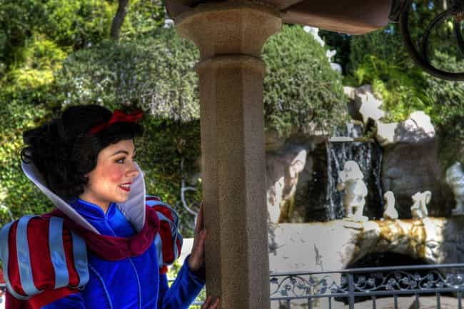 Snow White's Voice Is Fo... is listed (or ranked) 3 on the list Disneyland Easter Eggs Only A Super Fan Could Spot