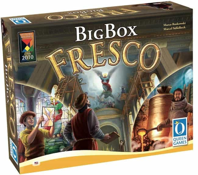 Fresco is listed (or ranked) 2 on the list The Most Popular 2 Player Board Games
