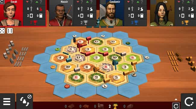 Catan Universe is listed (or ranked) 3 on the list The Best Board Game Apps