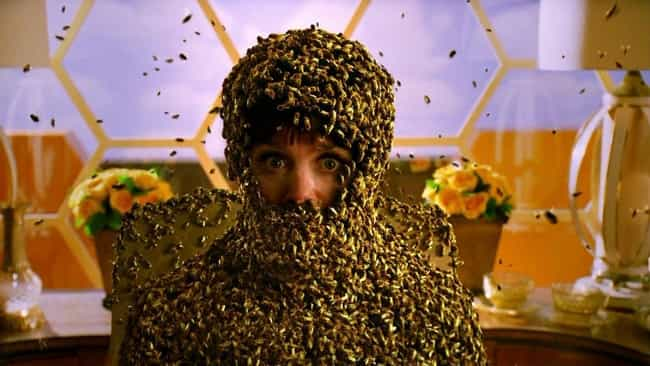 A Woman Is Swarmed Alive... is listed (or ranked) 2 on the list Creepy Scenes In 'Pushing Daisies' That Were Brushed Aside By The Show's Wholesome Atmosphere