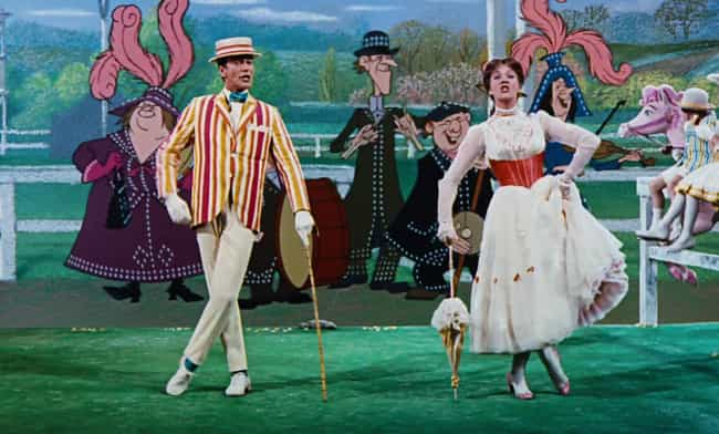 'Supercalifragilisticexp... is listed (or ranked) 8 on the list Behind The Scenes, The Making Of 'Mary Poppins' Was Not As Magical As You'd Think