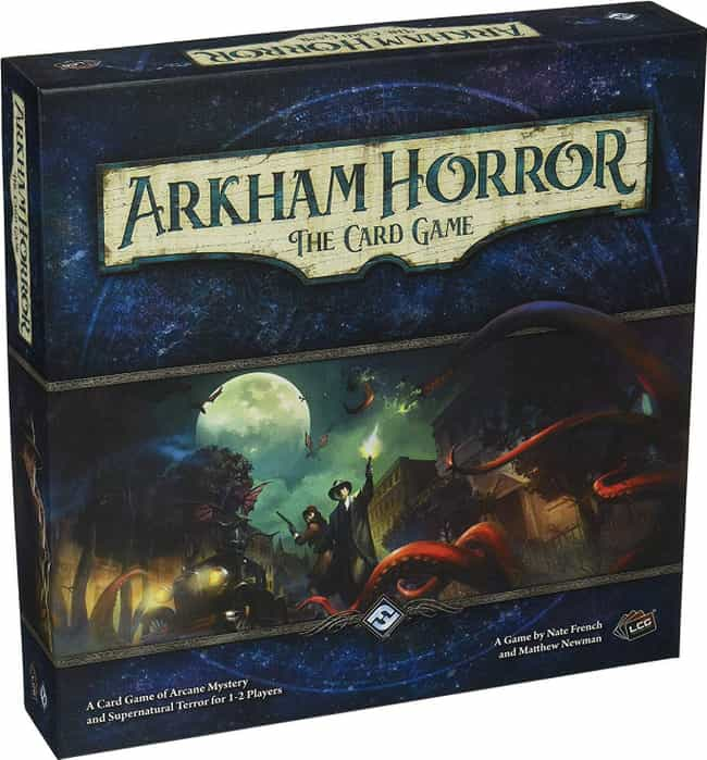 Arkham Horror: The Card ... is listed (or ranked) 4 on the list Best Single Player Board Games