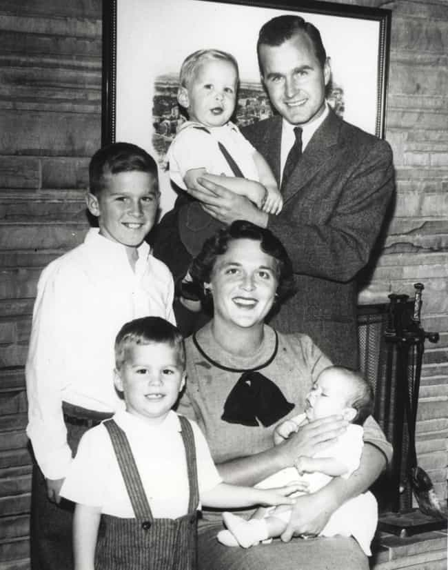 Bush Family Photo From 1956 is listed (or ranked) 4 on the list Intimate Behind-The-Scenes Photos Of The Bush Family Like You've Never Seen Them Before