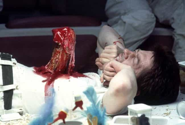 Real Animal Organs Burst Out A... is listed (or ranked) 2 on the list Behind The Chestburster Scene In The Original 'Alien'