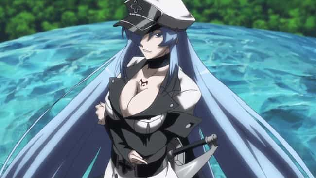 Esdeath - Akame ga Kill ... is listed (or ranked) 1 on the list The 20 Hottest Anime Villains of All Time
