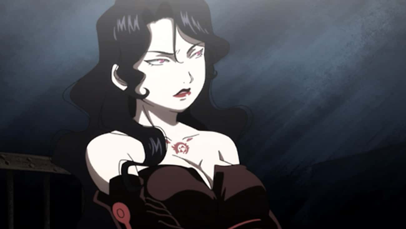 Lust - Fullmetal Alchemist is listed (or ranked) 4 on the list The 20 Hottest Anime Villains of All Time