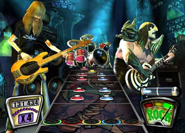Harmonix Released 'Guitar Hero... is listed (or ranked) 3 on the list The Rise And Ignominious Fall Of The 'Guitar Hero' Empire