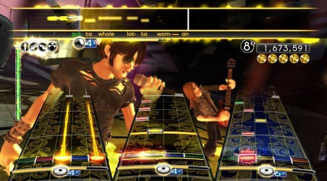 Harmonix Created 'Rock Band' is listed (or ranked) 5 on the list The Rise And Ignominious Fall Of The 'Guitar Hero' Empire