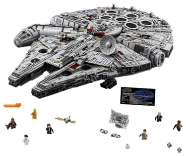 Ultimate Millennium Falcon is listed (or ranked) 1 on the list The Best LEGO Sets Over 1,000 Pieces