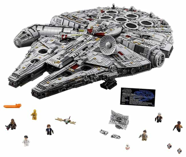 Ultimate Millennium Falc... is listed (or ranked) 1 on the list The Best LEGO Sets Over 1,000 Pieces