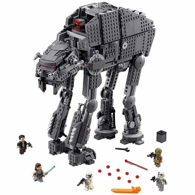 First Order Heavy Assault Walk... is listed (or ranked) 4 on the list The Best LEGO Sets Over 1,000 Pieces