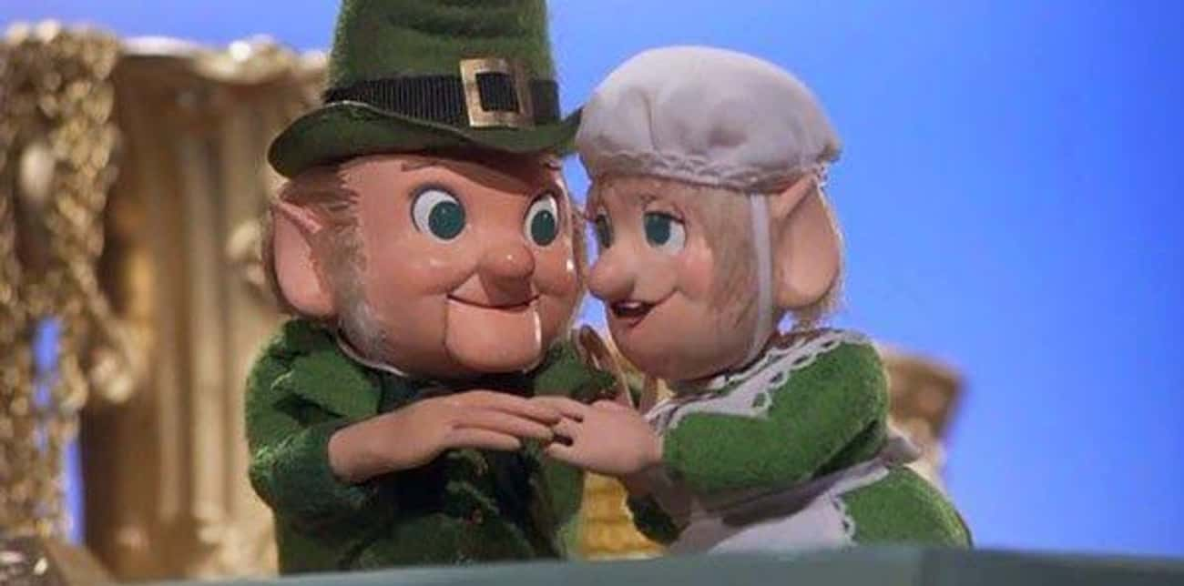 The Leprechaun's Christmas Gol is listed (or ranked) 1 on the list Those Rankin/Bass Stop-Motion Christmas Stories From Your Youth Are Weirder Than You Remember