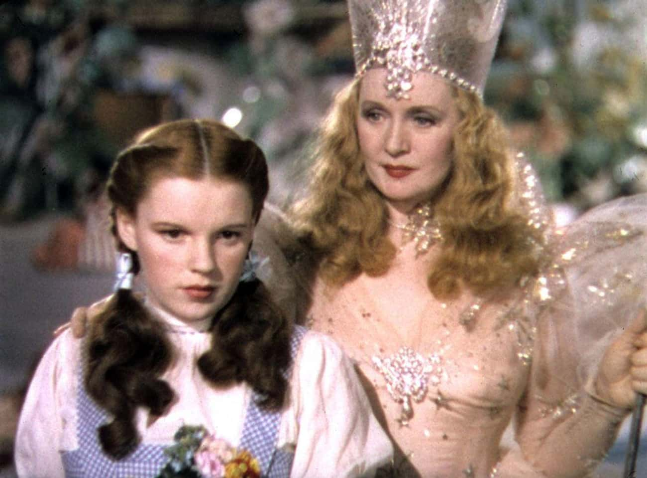 Glinda Doesn't Tell Dorothy Ho is listed (or ranked) 3 on the list This Fan Theory Proves Glinda Is Actually The Villain Of 'The Wizard Of Oz'