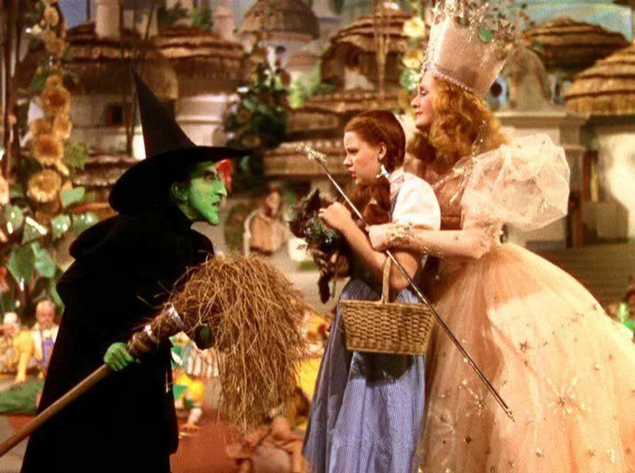 Glinda Makes Dorothy Do All He is listed (or ranked) 4 on the list This Fan Theory Proves Glinda Is Actually The Villain Of 'The Wizard Of Oz'