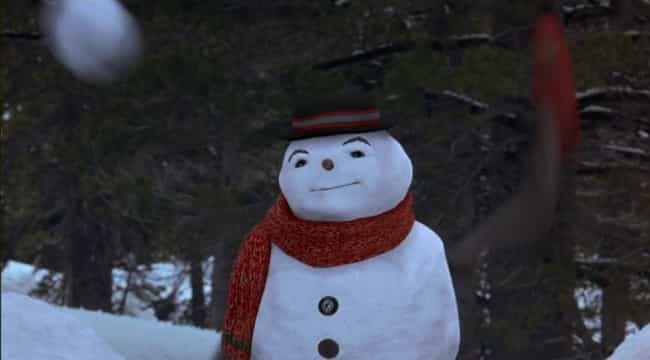 Each Film Gives Their Sn... is listed (or ranked) 4 on the list How The Family Film 'Jack Frost' Is Scarier Than A Nearly Identical Horror Movie Of The Same Name