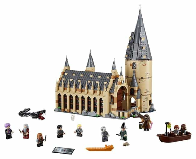 Hogwarts™ Great Hall is listed (or ranked) 1 on the list The Best Harry Potter LEGO Sets
