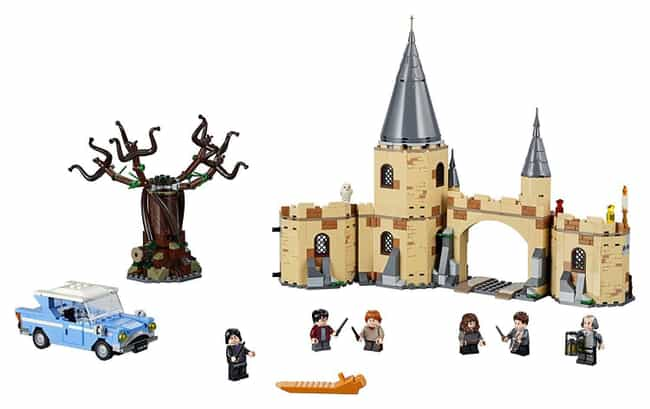 Hogwarts™ Whomping Willow™ is listed (or ranked) 3 on the list The Best Harry Potter LEGO Sets