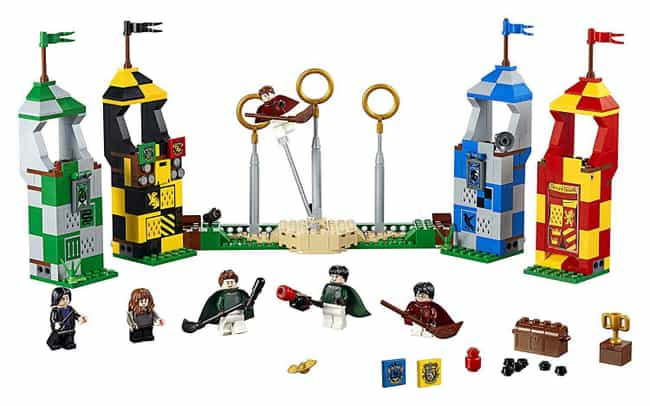 Quidditch™ Match is listed (or ranked) 4 on the list The Best Harry Potter LEGO Sets