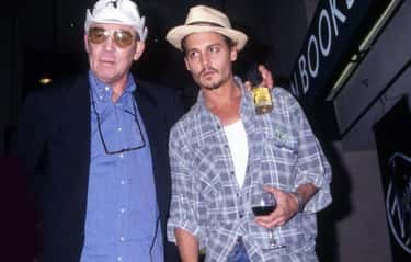 When They First Met, Thompson  is listed (or ranked) 1 on the list Inside Johnny Depp And Hunter S. Thompson's Bizarre Bromance