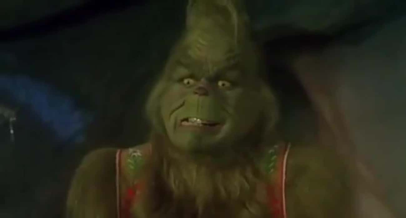 The Grinch Fears There Will Be A Cash Bar At The Christmas Celebration