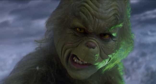 The Grinch Appears At Least A ... is listed (or ranked) 4 on the list The Jim Carrey Version Of 'The Grinch' Is Packed With Adult Jokes You Didn't Get As A Kid