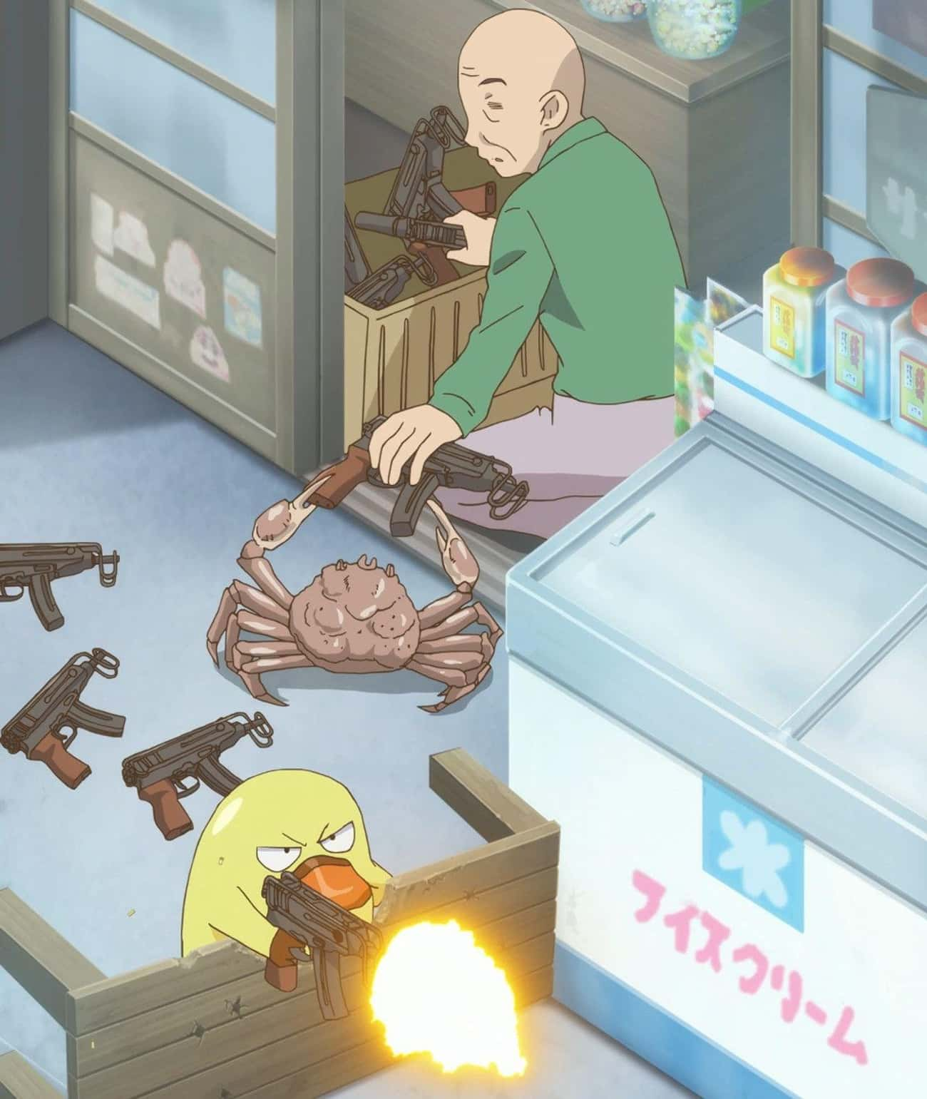 To Your Battle Stations is listed (or ranked) 1 on the list 30 Hilarious Anime Scenes That Make Absolutely No Sense Without Context