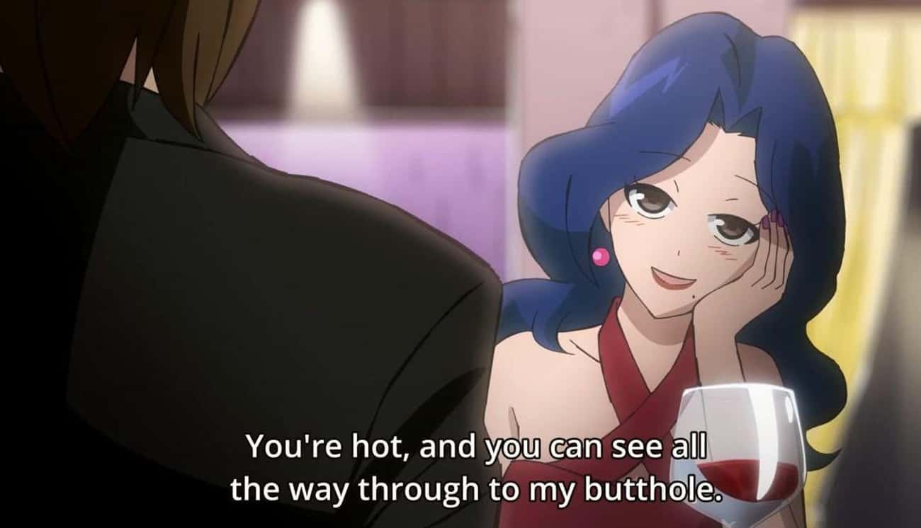 All The Way Through? is listed (or ranked) 3 on the list 30 Hilarious Anime Scenes That Make Absolutely No Sense Without Context