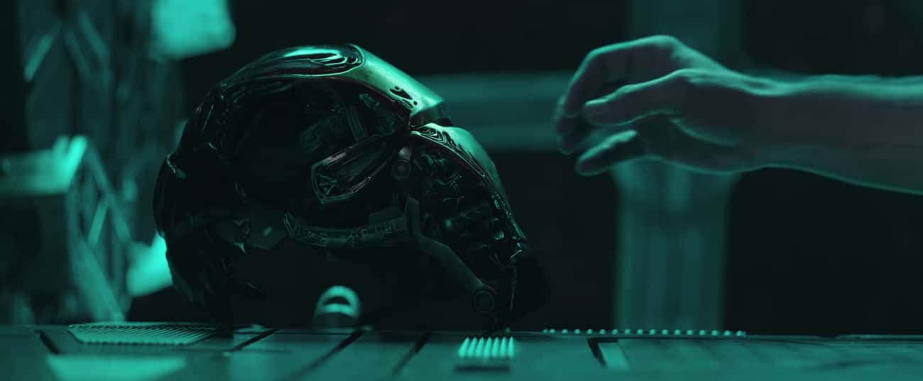 The Trailer Opens With Tony Stark Lost In Space - With An Ultron-Looking Mask
