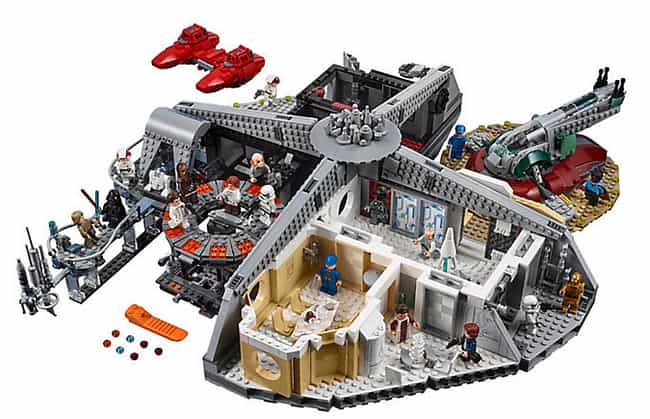 Betrayal at Cloud City™ ... is listed (or ranked) 4 on the list The Best Star Wars LEGO Sets