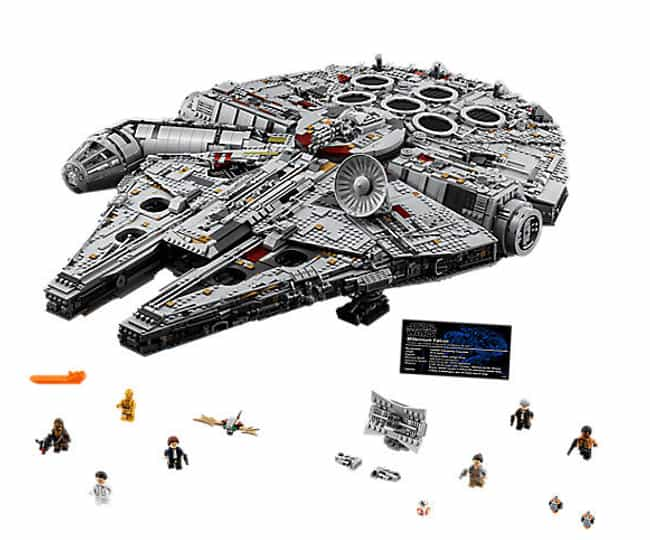 Millennium Falcon™ is listed (or ranked) 1 on the list The Best Star Wars LEGO Sets