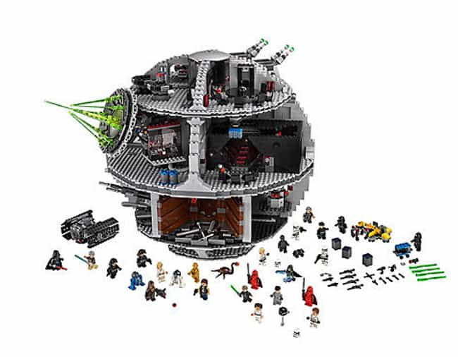 Death Star™ is listed (or ranked) 3 on the list The Best Star Wars LEGO Sets