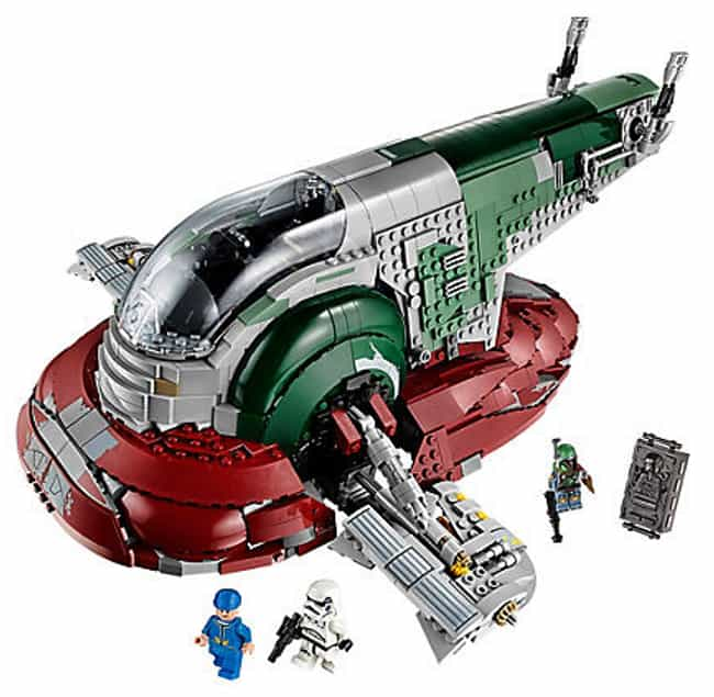 Slave I is listed (or ranked) 2 on the list The Best Star Wars LEGO Sets