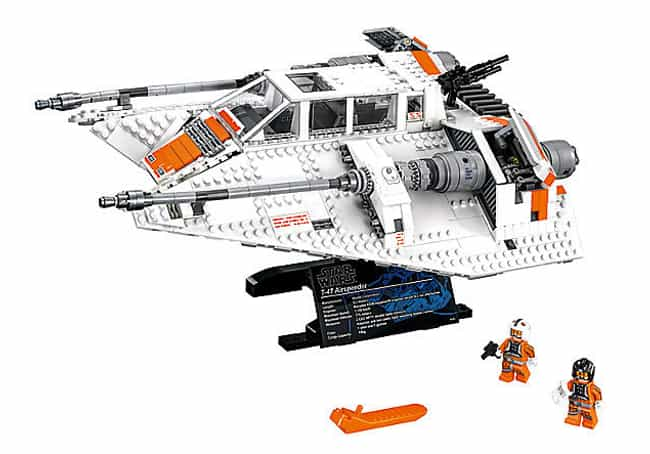 Snowspeeder™ is listed (or ranked) 4 on the list The Best Star Wars LEGO Sets