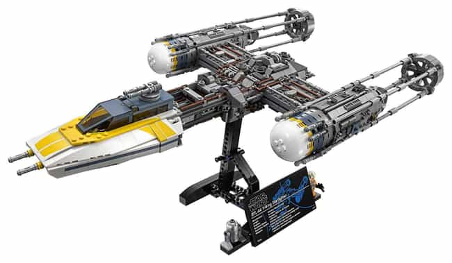 Y-Wing Starfighter™ is listed (or ranked) 4 on the list The Best Star Wars LEGO Sets