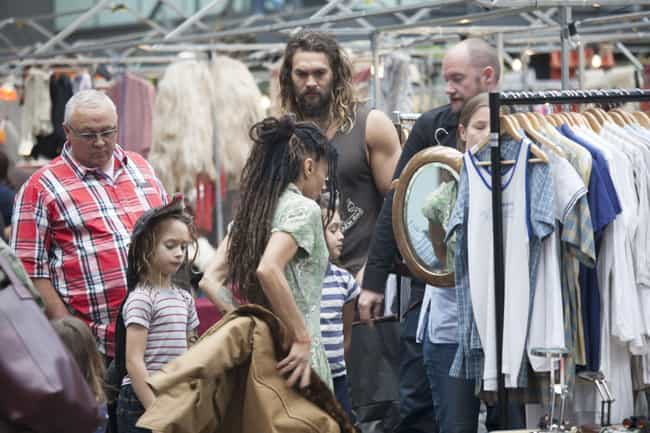 He's Walked The Runway F... is listed (or ranked) 1 on the list Things You Didn't Know About Jason Momoa