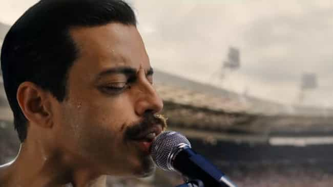 Rami Malek Practiced Sin... is listed (or ranked) 4 on the list How 'Bohemian Rhapsody' Recreated Queen's Legendary Live Aid Performance