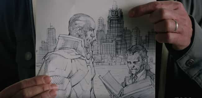Jim Lee's Art is listed (or ranked) 2 on the list Every Easter Egg In The Arrowverse's