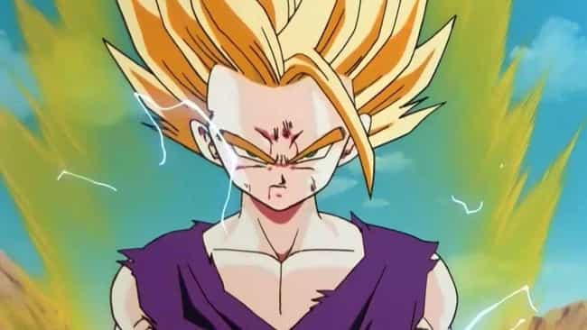 Gohan Unlocks Super Saiyan 2 is listed (or ranked) 3 on the list The 20 Most Epic Moments From Dragon Ball Z