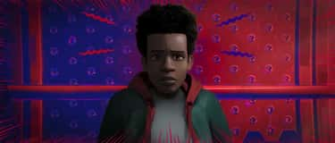 Miles Morales Has Apparently M is listed (or ranked) 2 on the list 18 Easter Eggs And References You Missed From 'Spider-Man: Into The Spider-Verse'