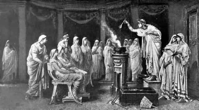Vestal Virgins Were Buri... is listed (or ranked) 3 on the list 14 Deliberately Evil Historical Punishments Designed To Be More Painful Than Death