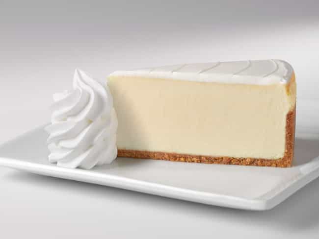 Original is listed (or ranked) 3 on the list The Best Cheesecakes At The Cheesecake Factory, Ranked