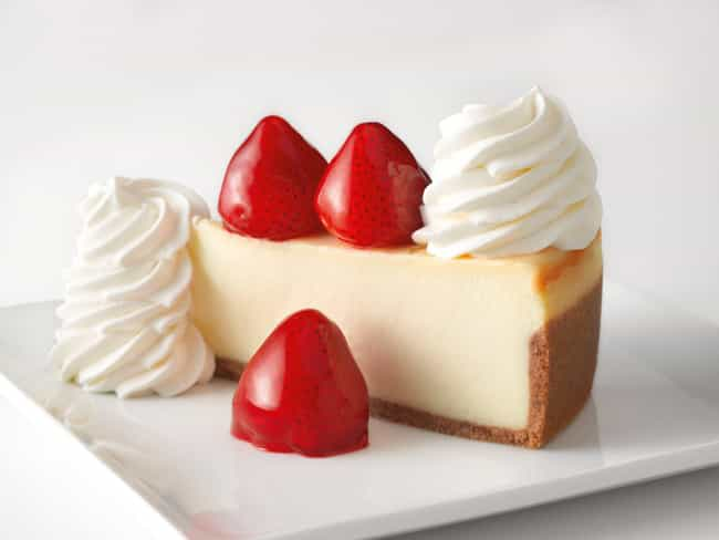 Fresh Strawberry is listed (or ranked) 2 on the list The Best Cheesecakes At The Cheesecake Factory, Ranked