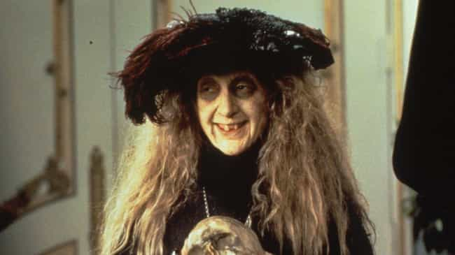 Carol Kane's Prosthetics Weigh... is listed (or ranked) 6 on the list Dark And Morbidly Funny Behind-The-Scenes Stories From The '90s Addams Family Films