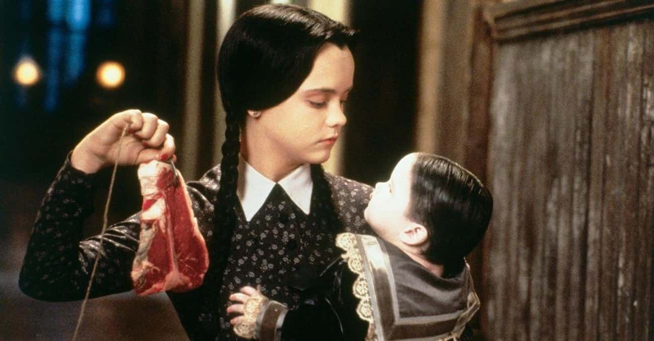 The Original Production Studio is listed (or ranked) 4 on the list Dark And Morbidly Funny Behind-The-Scenes Stories From The '90s Addams Family Films