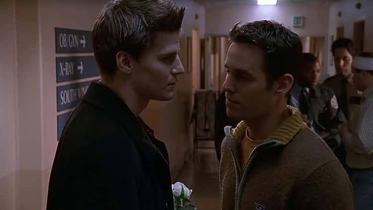 David Boreanaz Didn't Want Nicholas Brendon At The 'Buffy' Reunion Shoot