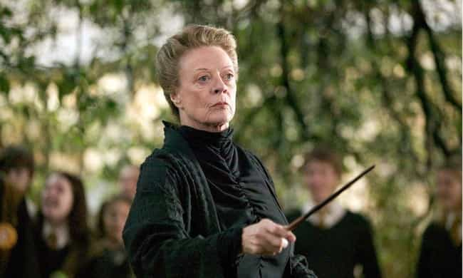 Professor McGonagall Shows Up ... is listed (or ranked) 1 on the list All The Contradictions Of Harry Potter Canon In 'Crimes Of Grindelwald'