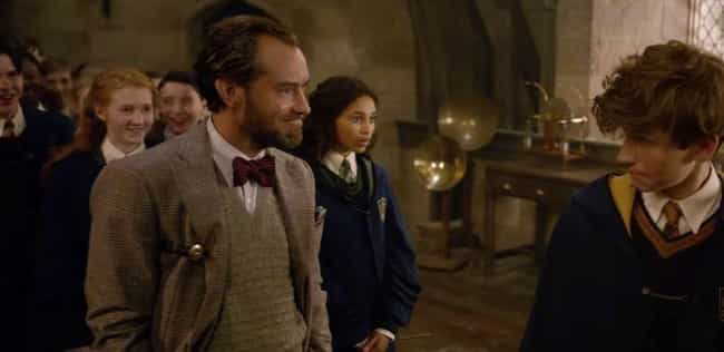 Dumbledore Never Teaches Defen... is listed (or ranked) 3 on the list All The Contradictions Of Harry Potter Canon In 'Crimes Of Grindelwald'