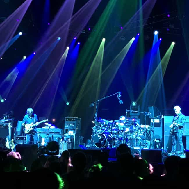 Phish - The Forum, Inglewood J... is listed (or ranked) 2 on the list I Saw 100 Bands in 2018 and Ranked Them